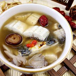 人蔘杜仲鰻魚煲★仲秋滋補養身餐