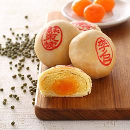 綠豆椪9入+鳳梨酥12入