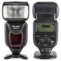 Phottix Mitros+ TTL 閃光燈加Odin發射器套組