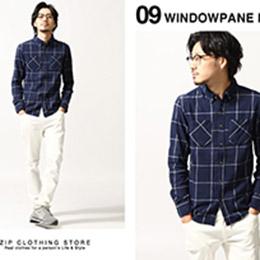 ZIP日本男裝 法蘭絨襯衫 - 14色