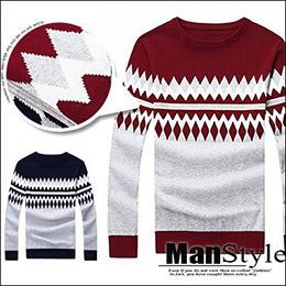 針織ManStyle潮流嚴選韓版男民族風毛衣毛衫