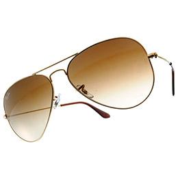 Ray Ban 雷朋 金邊棕鏡 太陽眼鏡