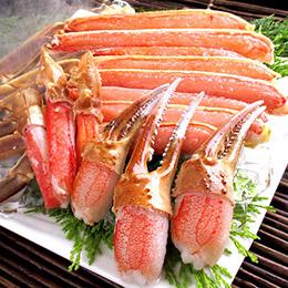 日本人氣第一★松葉蟹足豪華拼盤(1kg)