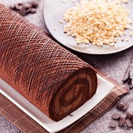人氣經典黑白配❤北海道鮮乳捲+黑絲綢蛋糕