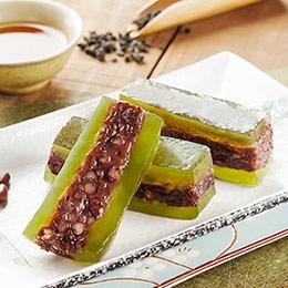 抹茶紅豆★綜合水晶糕3盒