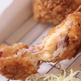 【爆漿可樂餅】培根起司+香蔥豬肉