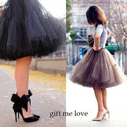 高級訂製法式浪漫多層澎紗裙
