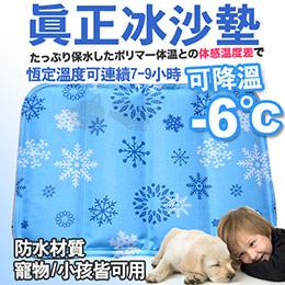 《夏日冰涼墊》新一代冰沙墊 - 雪花款