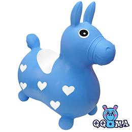 QQMa 快樂寶貝充氣跳跳馬