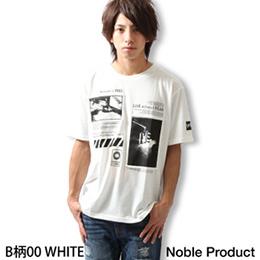 日本製夏日短袖上衣 印花T恤