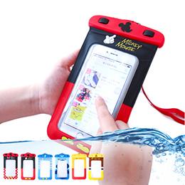 正版迪士尼觸控手機防水袋(附捲線防塵塞) 防水手機袋