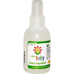 Lafe's Organic 有機純自然嬰兒防蚊液118ml