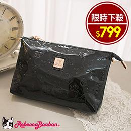 日本狗頭包經典壓印側背包