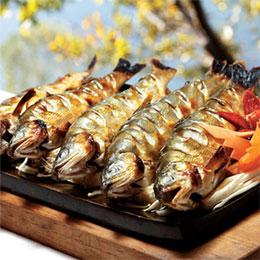 宜蘭淨水香脂香魚(1盒/14尾/1kg)