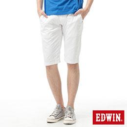 EDWIN 棉質百搭5分馬褲