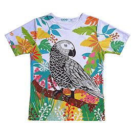 鸚鵡 Coolmax吸溼排汗衫