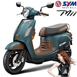 SYM三陽機車new Mii 110 碟剎