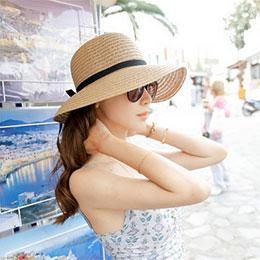 日韓新款 海攤遮陽帽