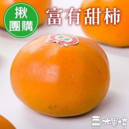 台灣高海拔 - 富有甜柿 (8粒)