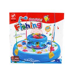 電動釣魚盤