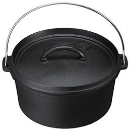 美國 Coleman SF 10吋 荷蘭鍋 鑄鐵鍋
