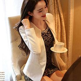 韓版修身西裝外套(3色)