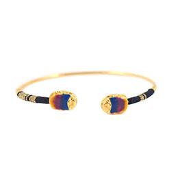 手編琺瑯混色手環