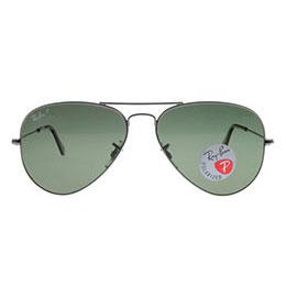 雷朋槍色銀邊太陽眼鏡 RB3025