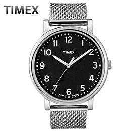 TIMEX不鏽鋼紳士腕錶
