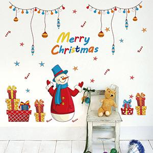 聖誕佈置壁貼