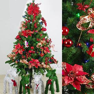 聖誕樹及聖誕花圈