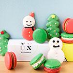 YUZU PATISSERIEYUZU減糖馬卡龍聖誕造型組