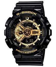 CASIO G SHOCK黑金重型休閒錶