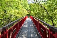 河童傳說地 北海道「二見吊橋」意境幽美