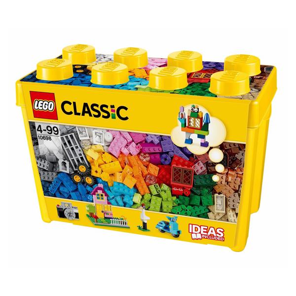 樂高LEGO基本顆粒-大型創意拼器盒