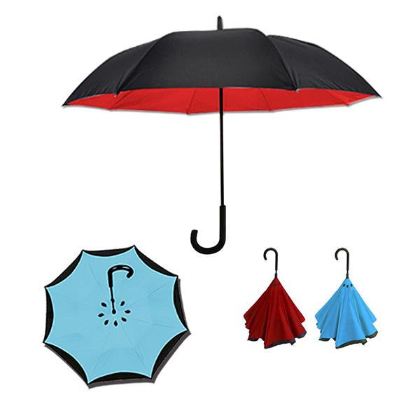 弧面上收反向傘