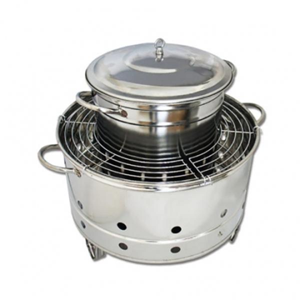 多用途碳烤桶仔雞爐