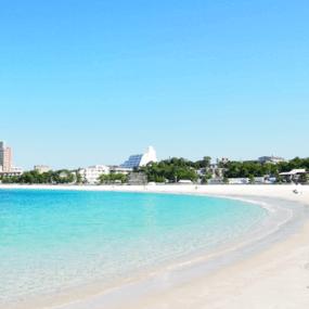 八重瀨町 具志頭海灘的心形岩石