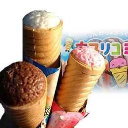 固力果冰淇淋三兄弟巧克力甜筒