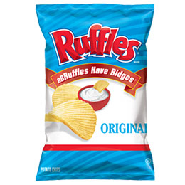 美國進口 Ruffles 厚切波樂洋芋片