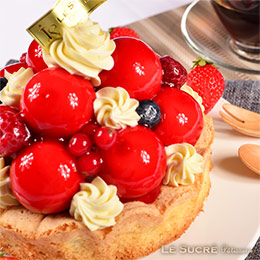莓果寶石蛋糕【6吋】