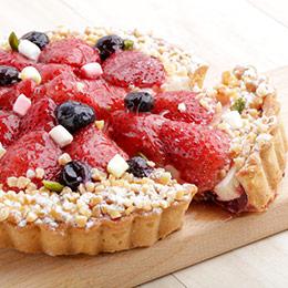 海瑟薇❤今年第一顆草莓蛋糕