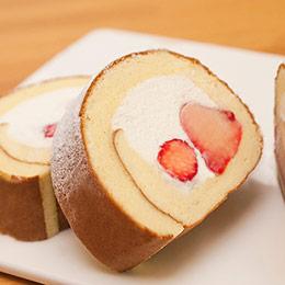 草莓蜂蜜蛋糕捲