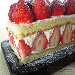 北海道雪藏草莓乳酪蛋糕
