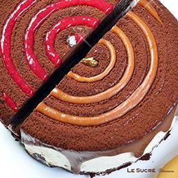 生巧克力蛋糕綜合款【6吋】