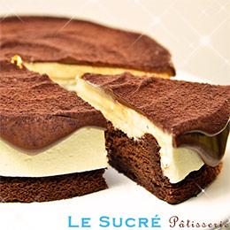 香濃起司生巧克力蛋糕【6吋】