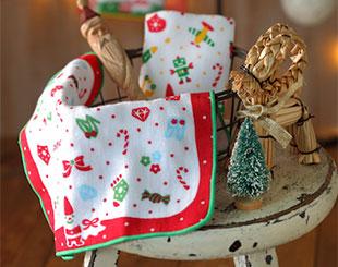 聖誕節限定毛巾