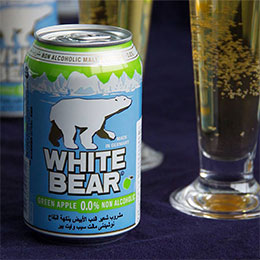 WHITE BEAR德國熊青蘋果白麥汁