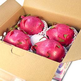 白肉 紅龍果/火龍果 (4入禮盒裝)