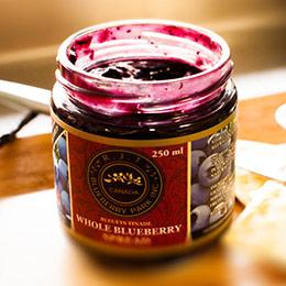 100%天然加拿大R.J.T天然楓糖藍莓果醬